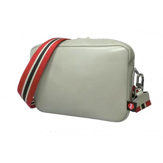 "Leica Handbag ""Andrea"" C-Lux, leather, cemento"