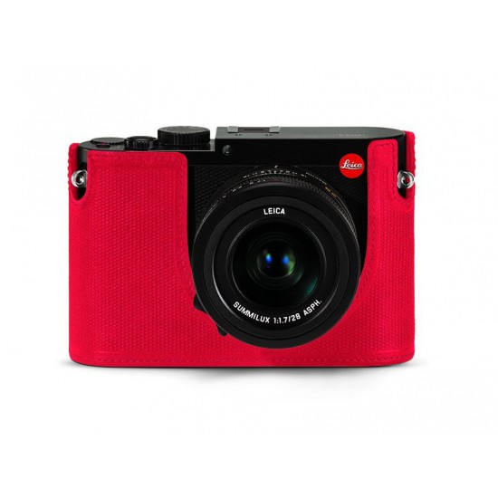 Leica Q Protector Red Leather