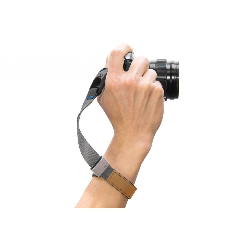 Peak Design Cuff® - Ash -Quick-connecting camera wrist strap