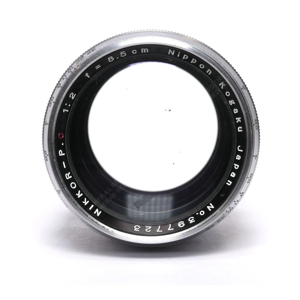 Nippon Kogaku 8.5cm f2 Nikkor-PC L-39 & Finder [CLEARANCE]
