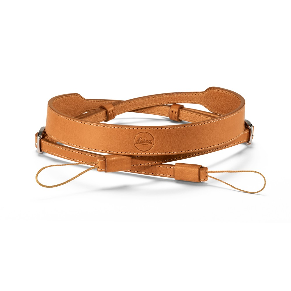 Leica Leather Carrying Strap for D-LUX, Brown