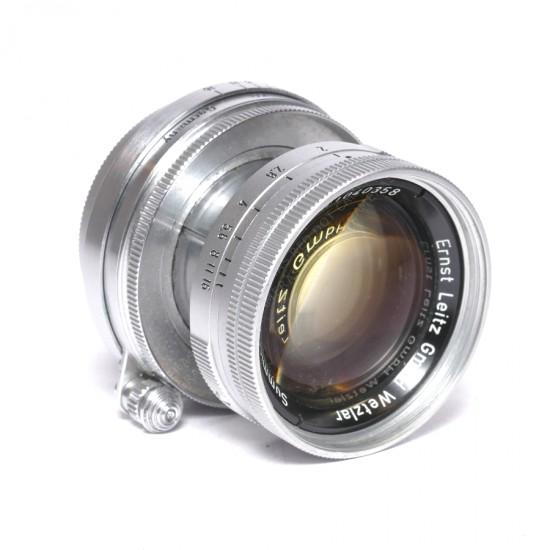 Leitz Summicron 5cm f2 L-39 Thorium Glass