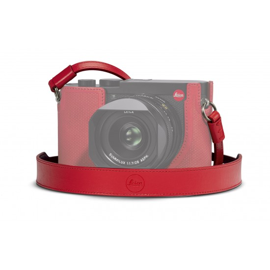 Leica Carrying strap Q2, red