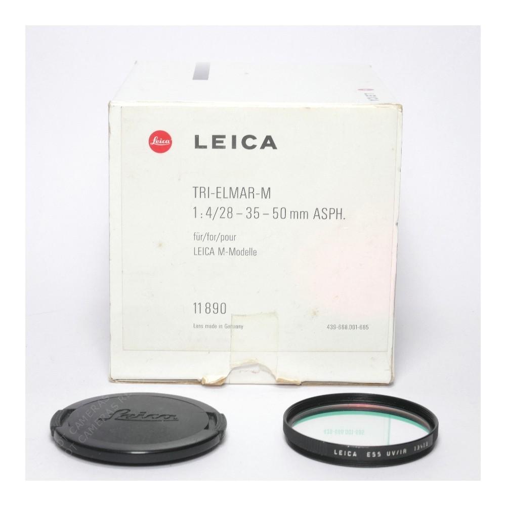 Leica Tri-Elmar 28-35-50mm f4-M Boxed