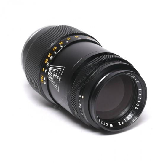 Leitz Tele-Elmar 135mm f4-M & Keeper Case