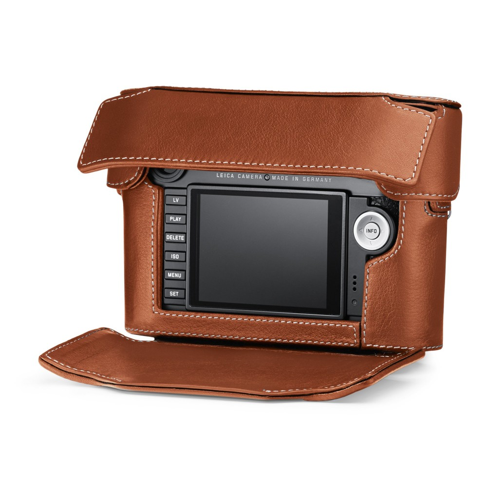 Leica Ever-Ready Case M (Typ 240) Large Front Cognac