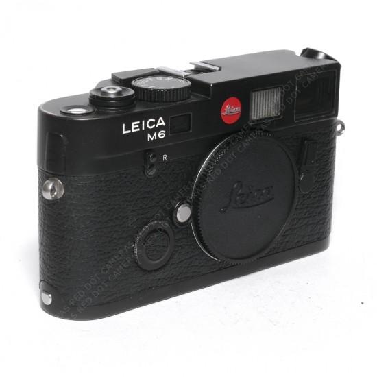 Leica M6 0.72 TTL Black Body Part Boxed