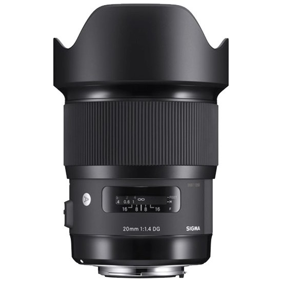 Sigma 20mm f1.4 DG HSM Art Lens - L-Mount
