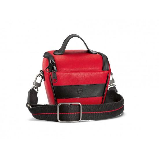 Leica Ettas Bag Coated Cavas Red/Black