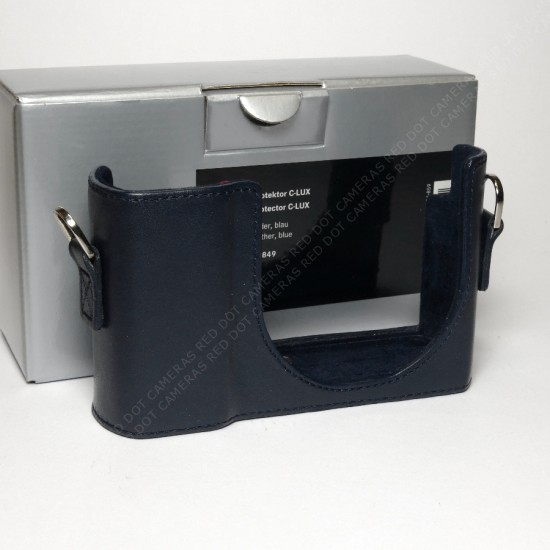 Leica Protector C-Lux, leather, blue