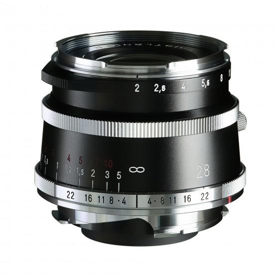 Voigtlander 28mm f2 VM Ultron Vintage Line ASPH Type I Lens