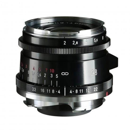 Voigtlander 28mm f2 VM Ultron VintageLine ASPH TypeII Black