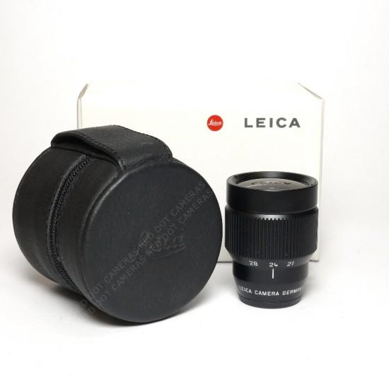 Leica 21-24-28mm Vario Viewfinder Black Boxed