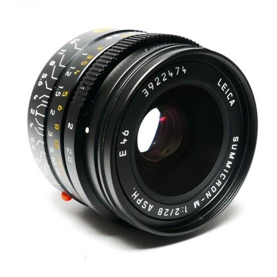 Leica Summicron 28mm f2 ASPH-M Boxed