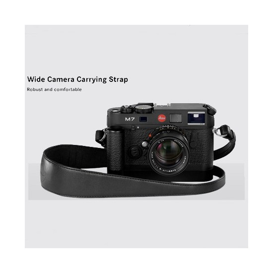 Leica Wide Carrying Strap, Black