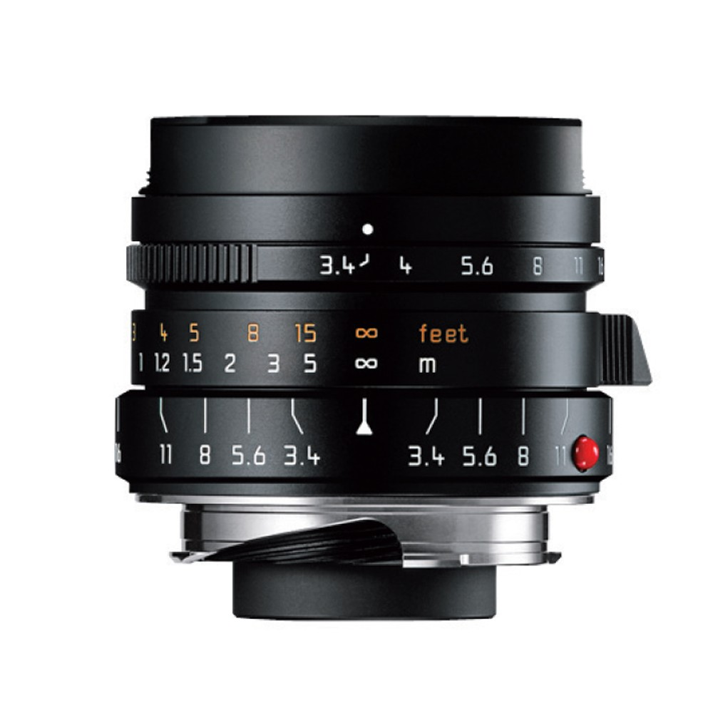 Leica 21/f3.4 SUPER-ELMAR-M ASPH.6-Bit Black